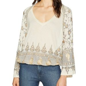Free People Medallion Print Top, Small